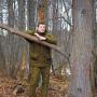 Костюм демисезонный ХАНТЕР Хаки Nova Tour для охотников и рыбаков, одет