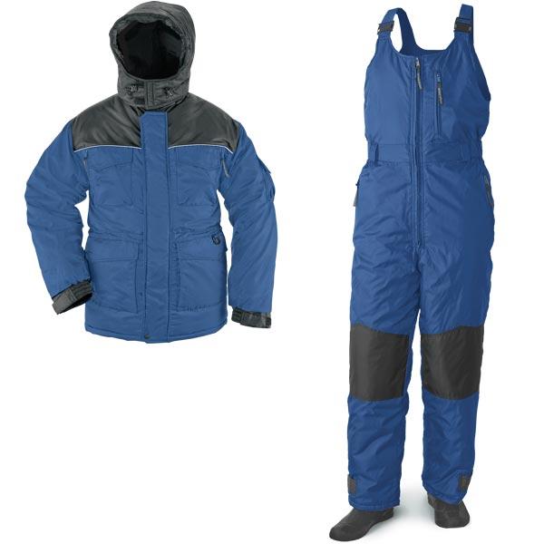 "Рыболовный зимний костюм ""Полюс"" - синий"